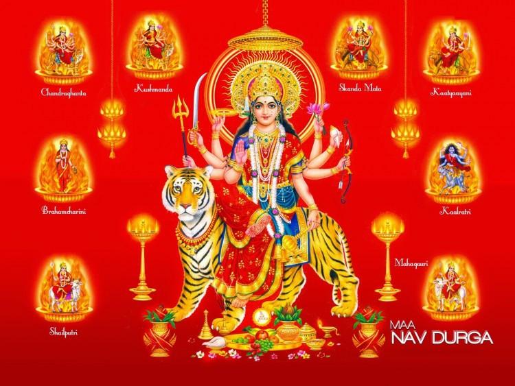 Navaratri, los nueve días de la Diosa - Jyotisha Navil Gauri - Astrología Védica