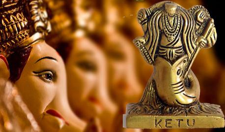 Ketu representa vidas pasadas, particularmente faltas o esfuerzos insuficientes, que ahora forman una parte negativa del karma en esta vida.