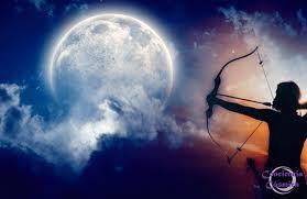 Luna en Sagitario - Dhanus Rashi -