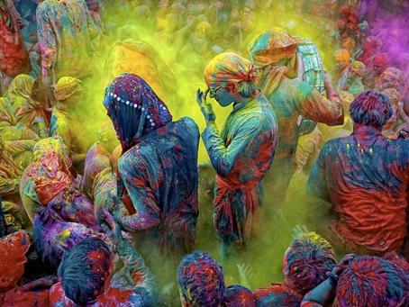 Holi, el festival de color.