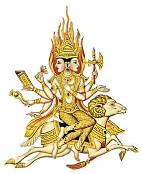 """Nakshatra 3 - Krittika - Jyotish, """"Ciencia de la Luz"""""""