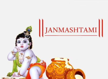 Cumpleaños de Janma Ashtami, Lord Krshna