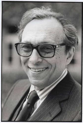 Jean Starobinski, ancien président de la Société J.-J. Rousseau