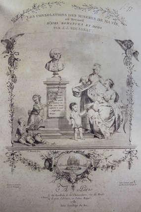 Travail de restauration sur les Consolations des misères de ma vie (atelier de Lucien Walker et Aurélia Coste, Carouge).