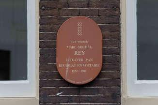 Maison de Marc-Michel Rey, éditeur de Rousseau. Amsterdam