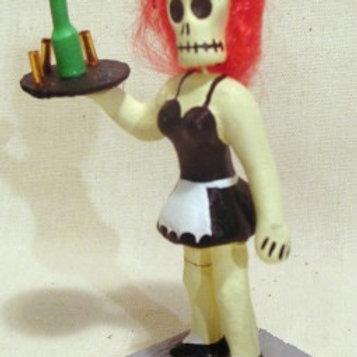 Waitress Skeleton P-59