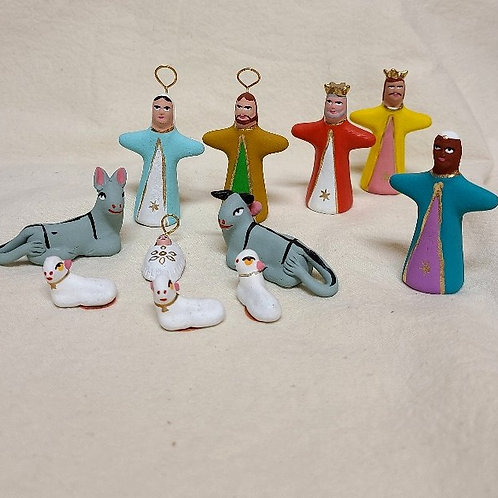 Hallelujah Nativity Set