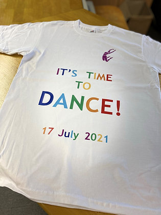 'It's Time To Dance' 2021 Show T-shirt