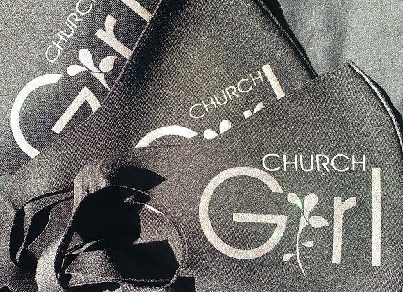 Signature Logo Church Girl Mask