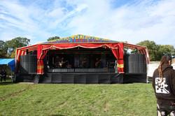Wango Riley's stage
