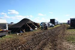 Crew camping