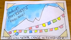 Postcard from Everest Base Camp