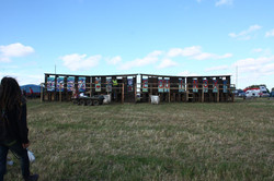 Toilets in the campsite