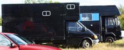 Horse drawn beltane camp, UK 2009
