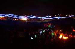 Equinox at night