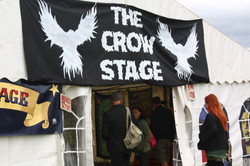 The Crow stage entrance