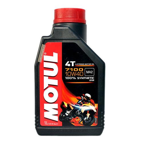 Моторное масло MOTUL 7100 4T SAE 10W40 (1 л.)