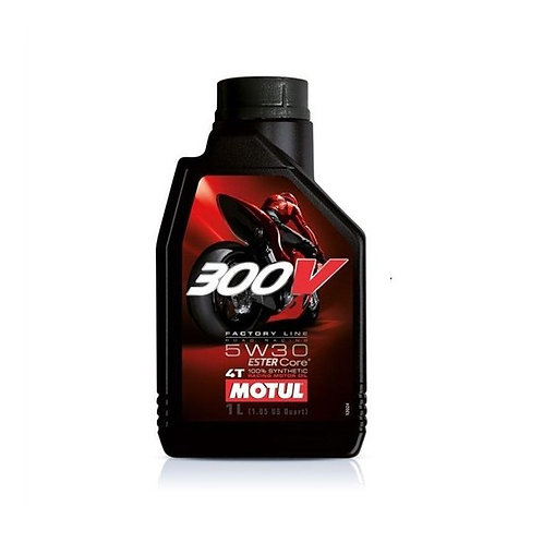 Моторное масло MOTUL 300 V 4T FL Road Racing SAE 5W30 (1 л)