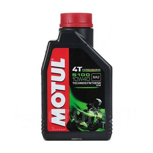 Моторное масло MOTUL 5100 4T SAE 10W40 (1 л.)