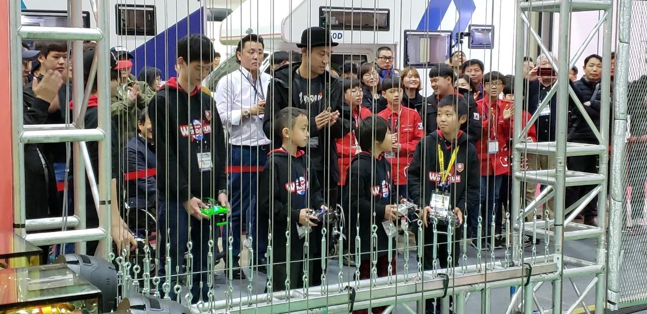 20190302韓国ドローンサッカー大会:JDSA日本代表チーム