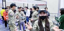 20190302韓国ドローンサッカー大会:韓国の 陸軍チーム