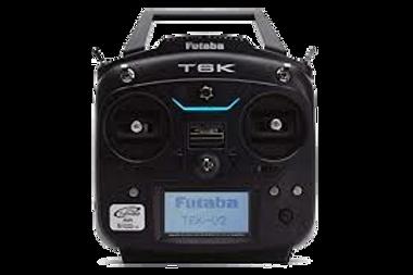 プロポ【FUTABA 6K】MODE2 受信機2個付属