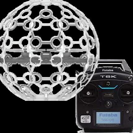 Drone STRIKER 本体(ペンタガード予備3枚付属) + プロポ【FUTABA 6K】