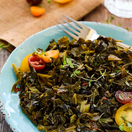 Fire Cider Vegan Collard Greens