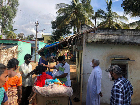 New Distribution of Collected Clothes