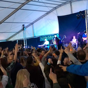 XL5 Hereford Best party band at Ludlow Spring Festival