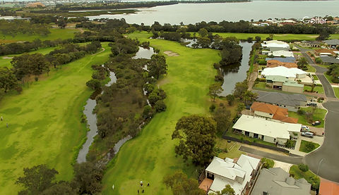 Sanctuary Golf Resort flyover