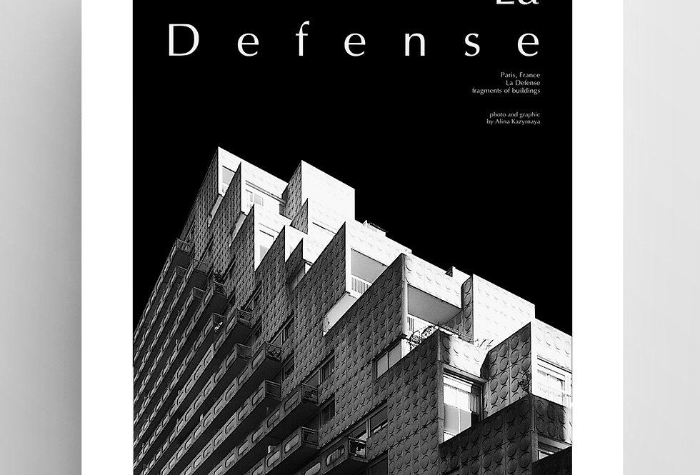 "Плакат из серии ""Paris№3"""