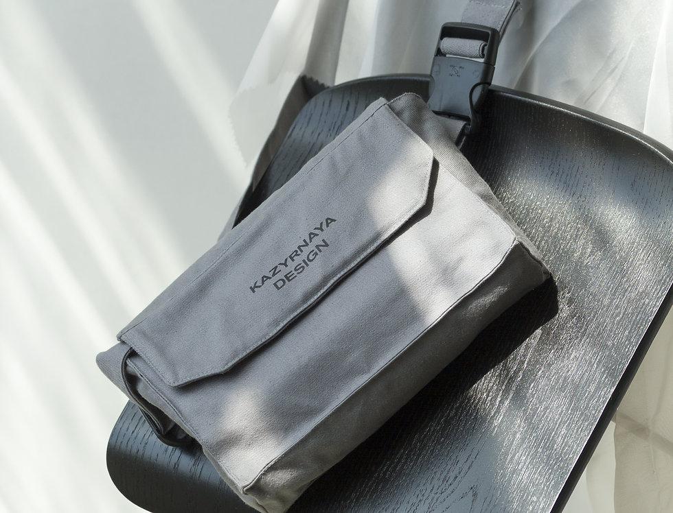 """Поясная сумка """"Block"""" grey"""