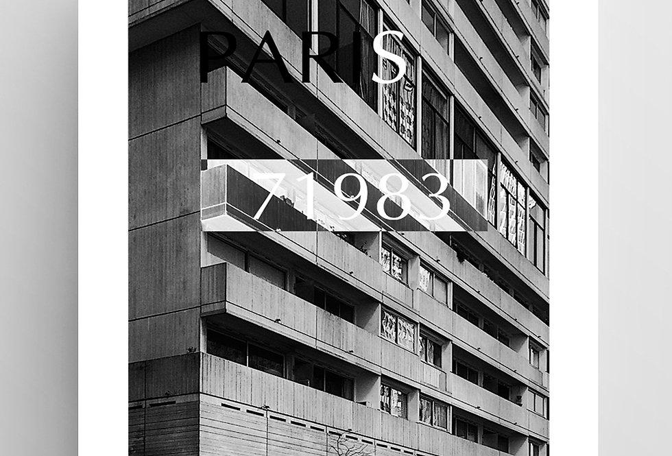 "Плакат из серии ""Paris №2"""