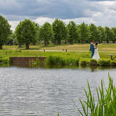 Sonika & Ben Tapley - Hampton Court Palace GC