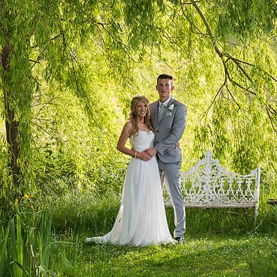 Amber Watts and Joseph Saunders