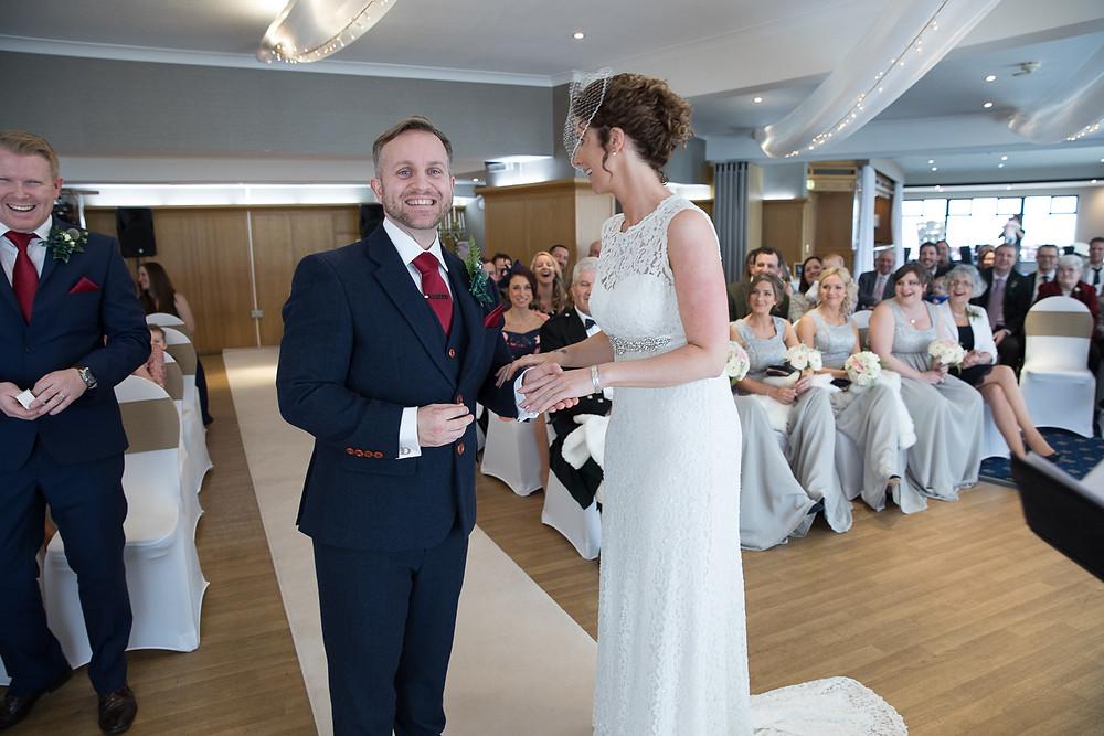 langlands wedding cooden beach hotel