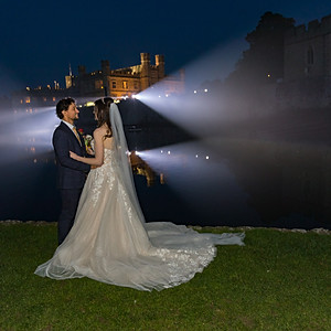 Carley & Stevie Williams - Leeds Castle