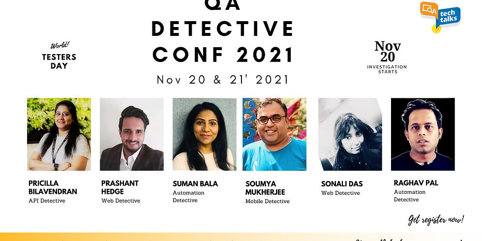 QA Detective Conf 2021