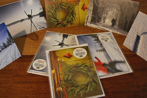 Greetings Cards (Pack of 5)