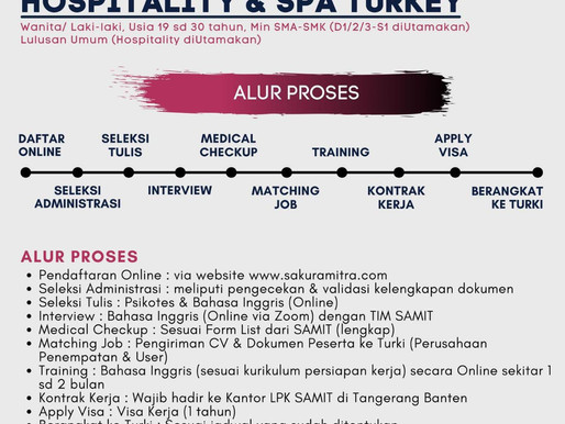 Info Lowongan Pekerjaan