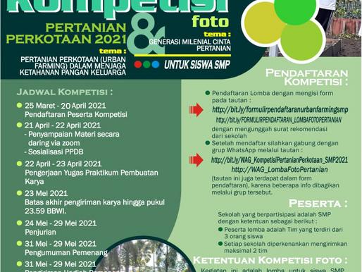 Kompetisi Pertanian Perkotaan 2021 & Foto