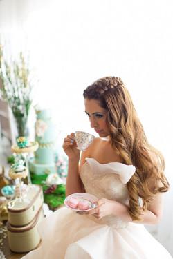 Montreal bridal makeup artist Amal Afoussi