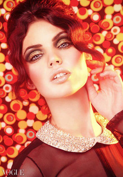 VOGUE ITALIA-MAKEUP AND HAIR BY AMAL AFOUSSI