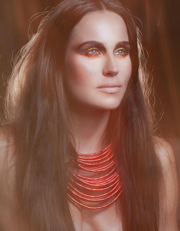 vogue beauty-makeup artist amal afoussi