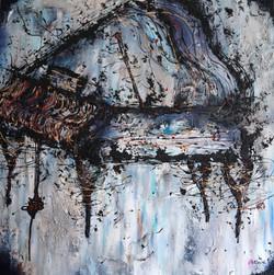 THE PIANO 2 | 36x36x1.5 inch