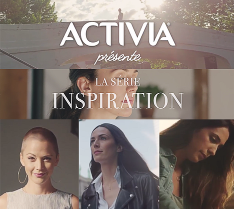 Activia canada/ Makeup & hair by Amal Afoussi / Produced by Pilaar