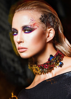 chinatown beauty editorial-Makeup & hairstyle by AMAL AFOUSSI