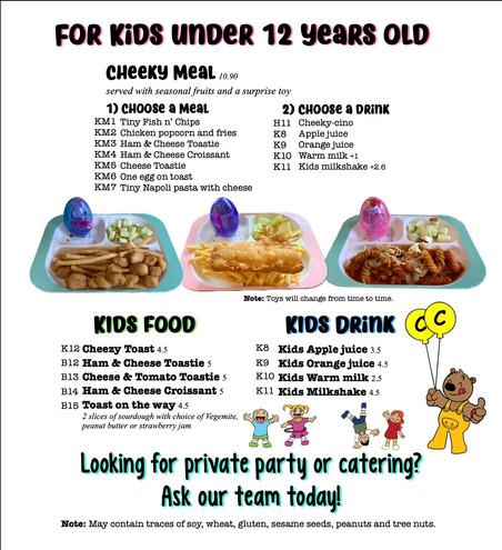 kids under 12