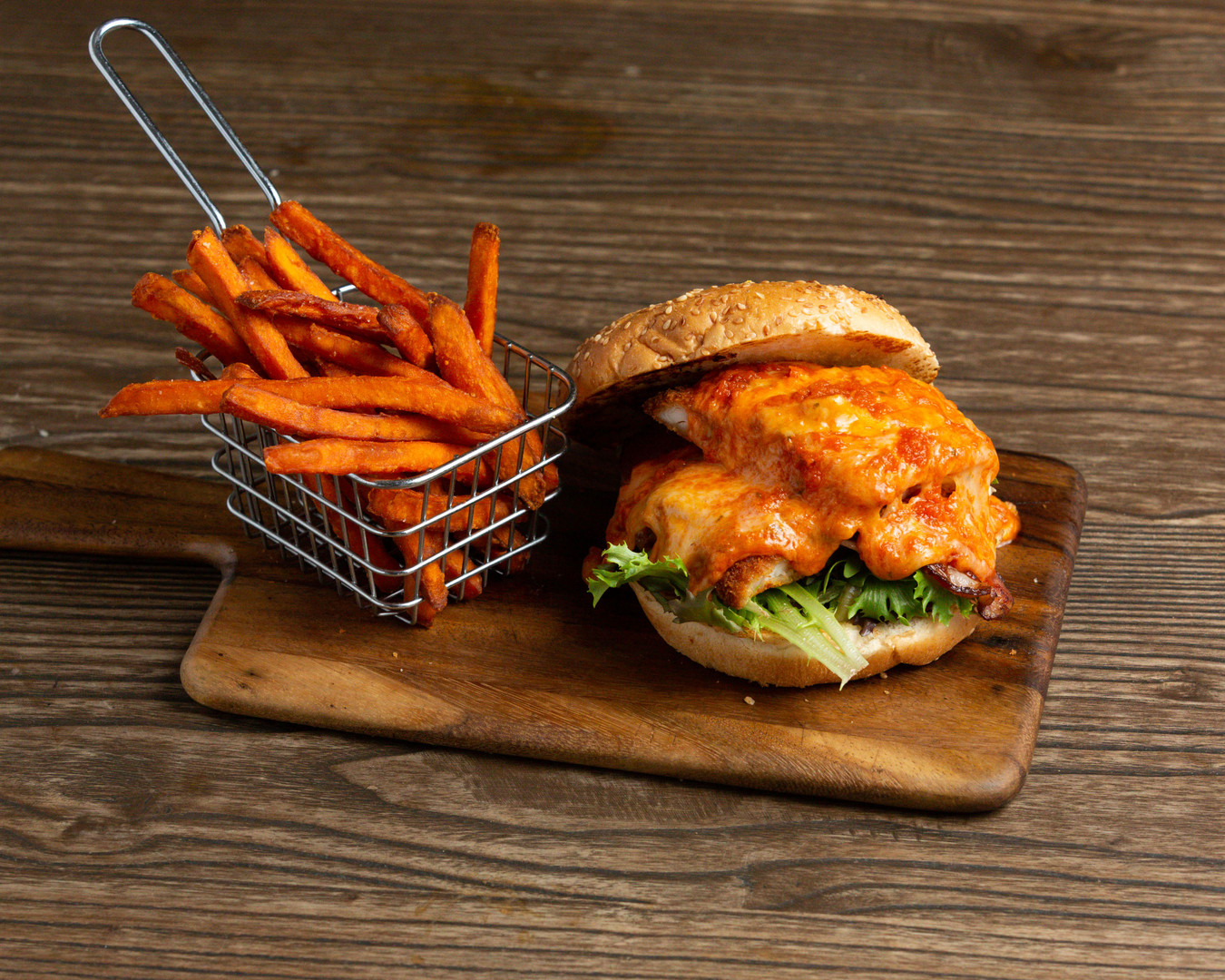 BurgerWaffleFriedChicken_ParmaBurgerWSwe